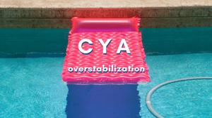 CYA overstabilization, CYA, cyanuric acid, stabilizer, stabilized chlorine
