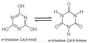 CYA structures, CYA molecule, cyanuric acid, chlorine stabilizer