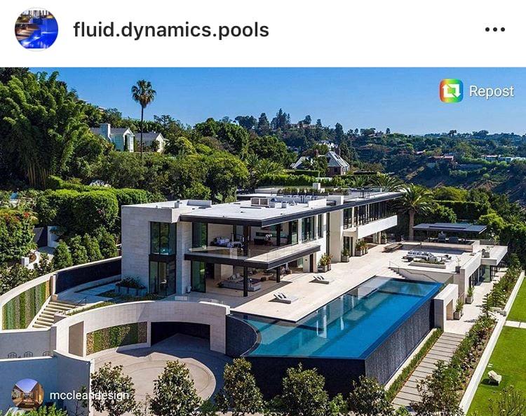 908belair, fluid dynamics pools, dave penton, genesis pool, infinity pool, vanishing edge, orenda pool