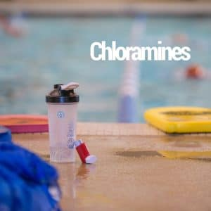 chloramines with water bottle