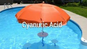 cyanuric acid, CYA, problems with cyanuric acid, how to remove cyanuric acid, reduce cyanuric acid, lower CYA