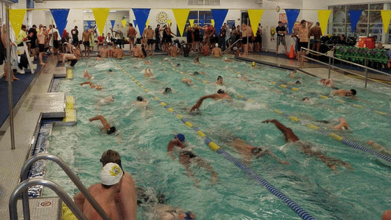 warmup pool at ultra swim