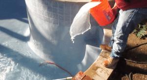 calcium pool startup, adding calcium to a pool, orenda startup, blue moon pools
