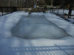 LSI violation, calcium, calcium pool, low LSI, etching, pool damage in winter, pool winterization