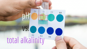 pH and alkalinity, alkalinity, alkalinity vs. pH