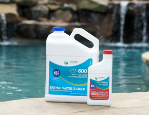CV-600, PR-10000, Orenda, removedor de fosfato de Orenda, removedor de fosfato, enzima de piscina, demanda de cloro