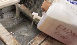 enzima orenda, filtro orenda, limpieza del filtro de la piscina, purga del filtro orenda