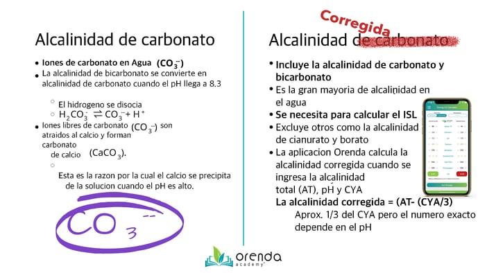 alcalinidad de carbonato