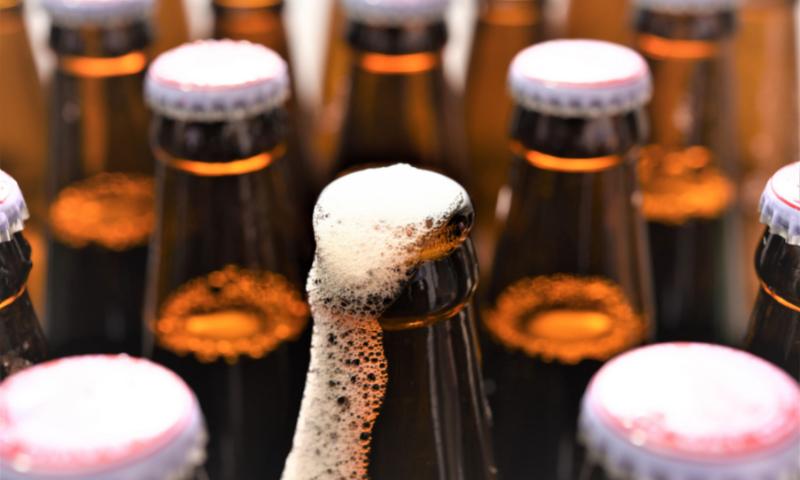 beer carbonation, henrys law
