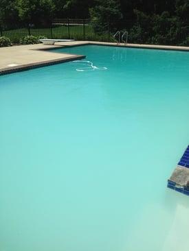 cloudy water soda ash, soda ash cloud, cloudy pool water, calcium carbonate precipitation, orenda pool