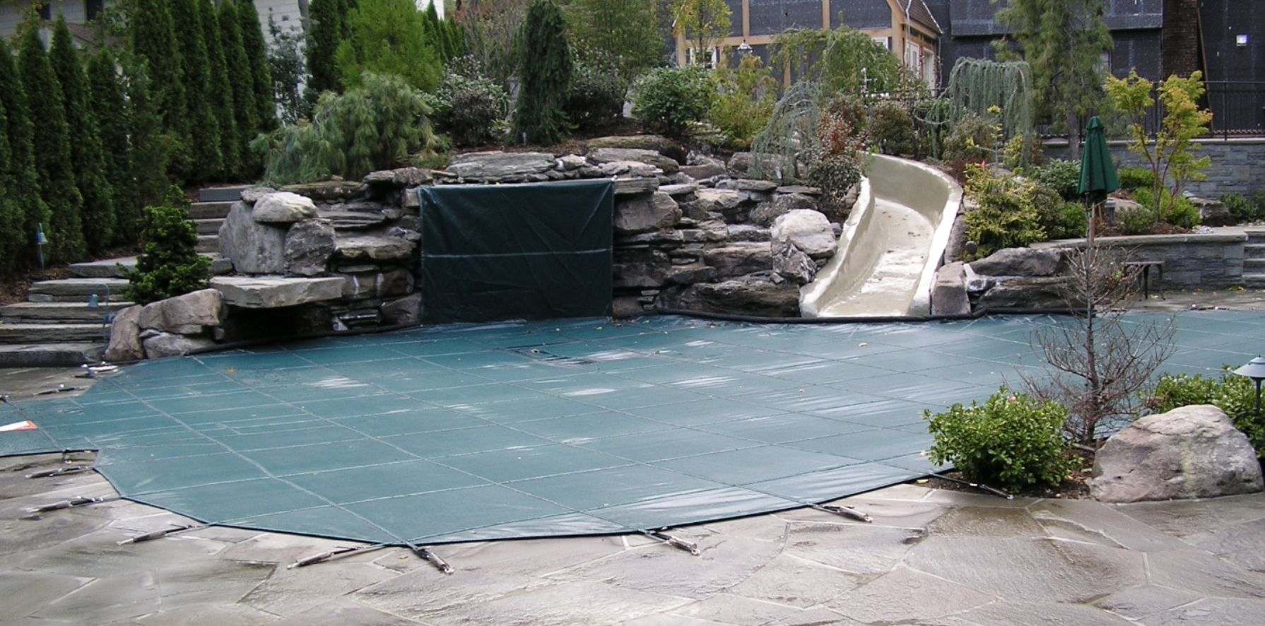 meyco cover, rugged mesh pool cover, mesh pool safety cover