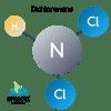 molecule dichloramine, dichloramine, chloramines, combined chlorine, orenda
