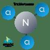 molecule trichloramine, trichloramine, nitrogen trichloride, tri-chloramine, chloramines, orenda