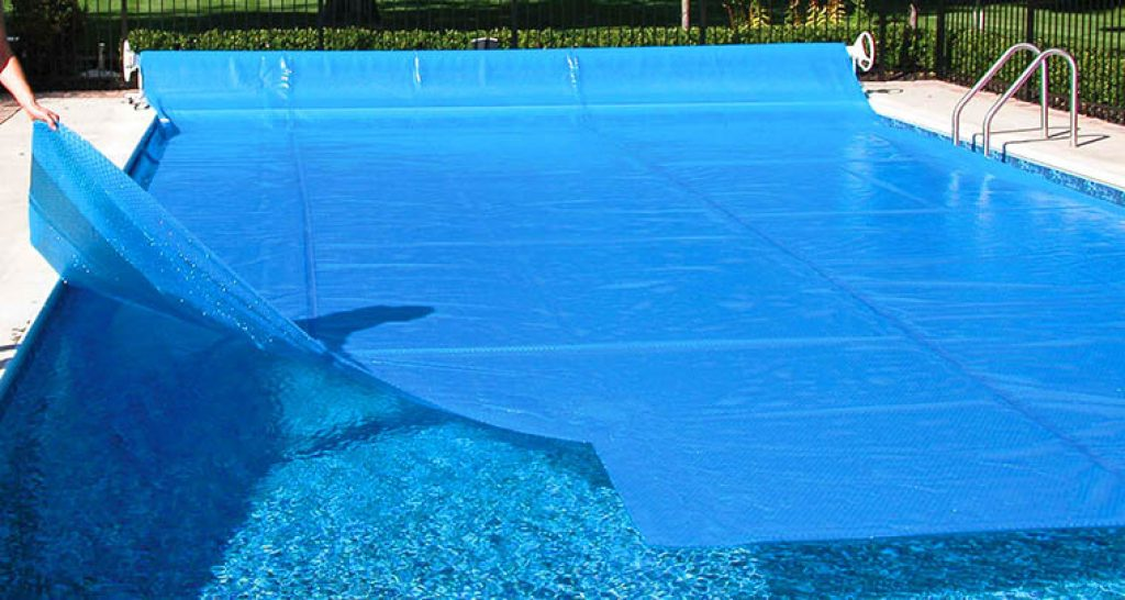 solar pool cover, thermal pool cover