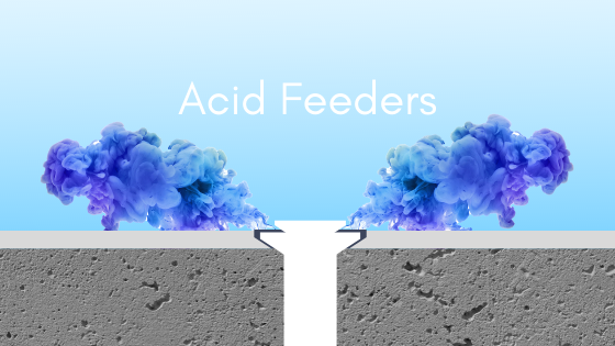 acid feeder, how to use an acid feeder, acid in commercial pool, pH control pool, pH and alkalinity in pool