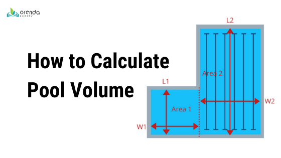 how to calculate pool volume, calculate pool size, pool gallonage, pool liters, pool volume calculator, pool volume estimator, Orenda pool