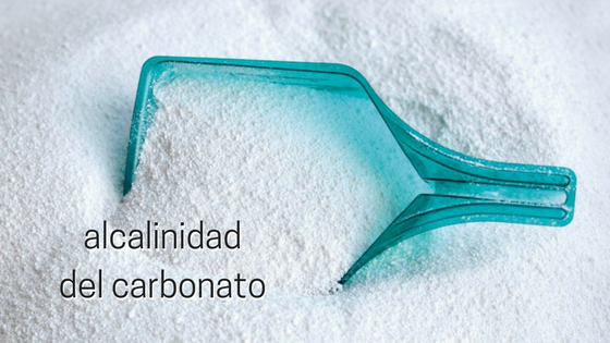 alcalinidad del carbonato