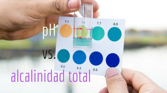 spanish- pHvs.total alkalinity